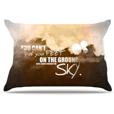 Touch The Sky Pillowcase Size: Standard