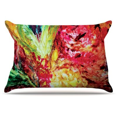 Passion Flowers I Pillowcase Size: King