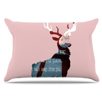 Oh Deer Pillowcase Size: Standard