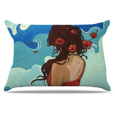 Sea Swept Pillowcase Size: King