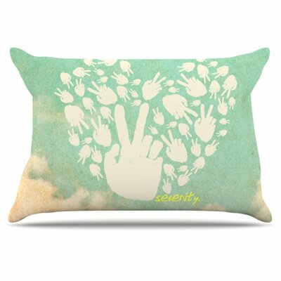 Serenity Pillowcase Size: King