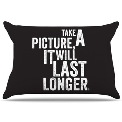 Take a Picture Pillowcase Size: Standard