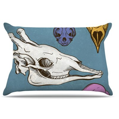 Skulls Pillowcase Size: Standard