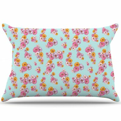 Paper Flower Pillowcase Size: Standard