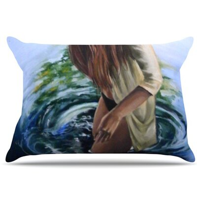 Knee Deep Pillowcase Size: King