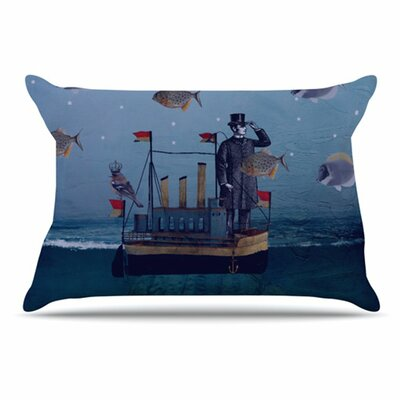 The Voyage Pillowcase Size: King