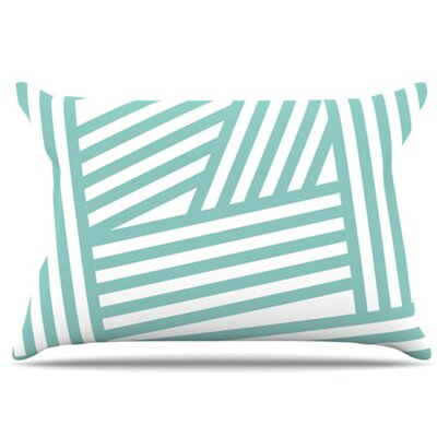 Stripes Pillowcase Size: King