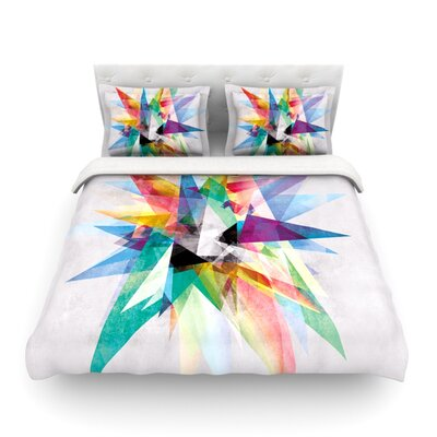Colorful by Mareike Boehmer Woven Duvet Cover Size: Twin