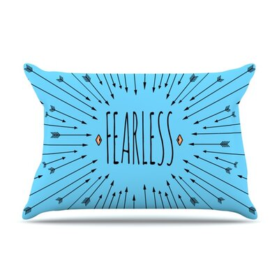 Fearless by Skye Zambrana Featherweight Pillow Sham Size: Queen, Fabric: Woven Polyester