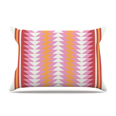 Bomb Pop by Skye Zambrana Featherweight Pillow Sham Size: King, Fabric: Woven Polyester