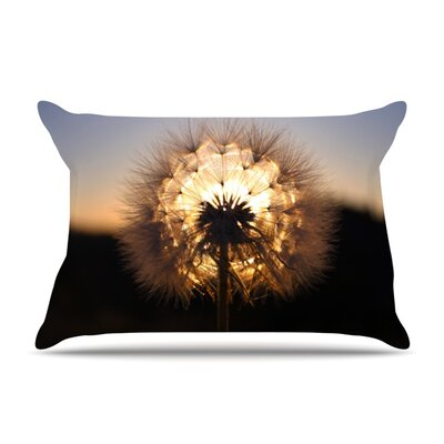 Glow by Skye Zambrana Featherweight Pillow Sham Size: King, Fabric: Woven Polyester