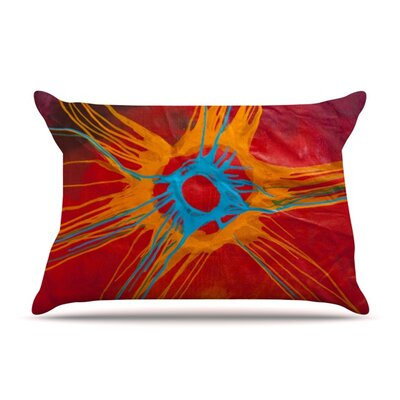 Eclipse by Steve Dix Featherweight Pillow Sham Size: Queen, Fabric: Woven Polyester