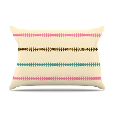 Diamonds by Skye Zambrana Featherweight Pillow Sham Size: Queen, Fabric: Woven Polyester