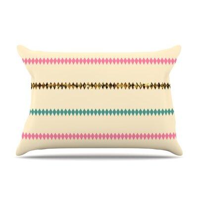 Diamonds by Skye Zambrana Featherweight Pillow Sham Size: King, Fabric: Woven Polyester