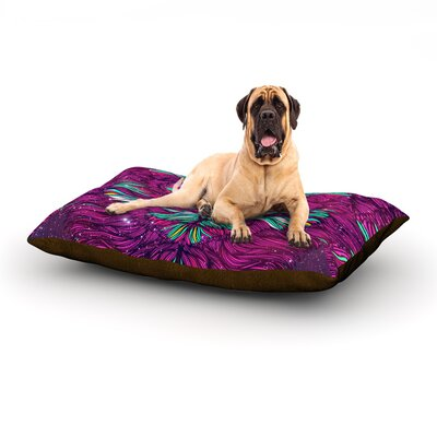 Space Cat Dog Bed Size: 28 L x 18 W