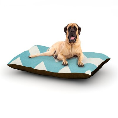 Salt Water Cure Dog Bed Size: 40 L x 30 W