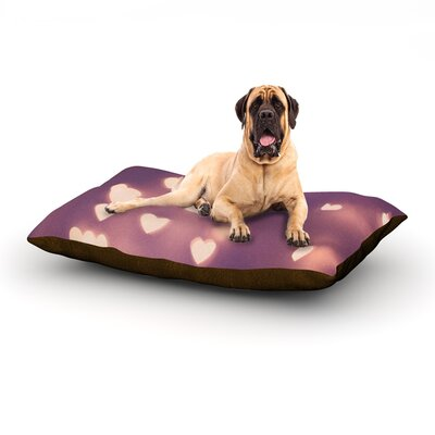 Your Love is Electrifying Dog Bed Size: 40 L x 30 W