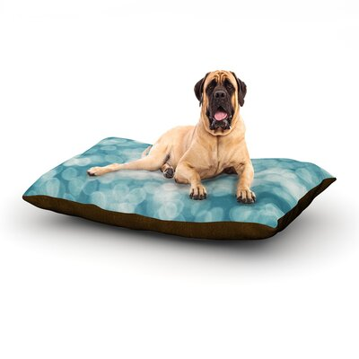 Snow Princess Dog Bed Size: 40 L x 30 W