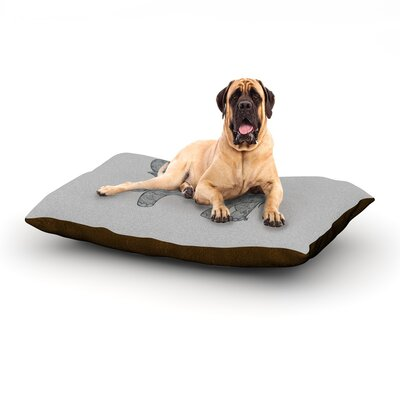 Elephant Dog Bed Size: 40 L x 30 W