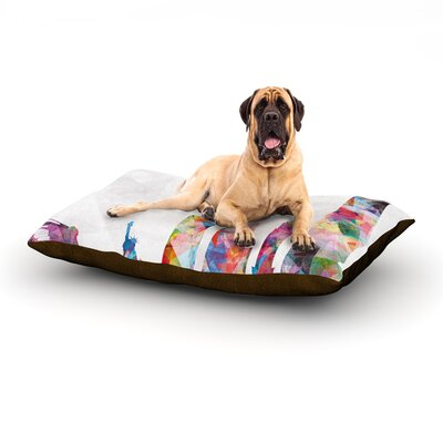 New York Rectangle Pet Bed Size: 40 W x 30 D
