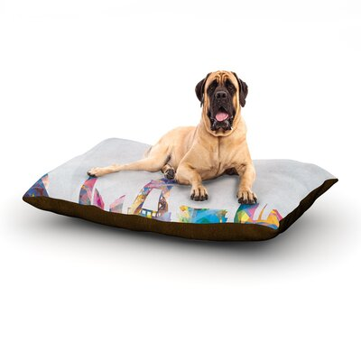 Paris Dog Bed Size: 40 L x 30 W