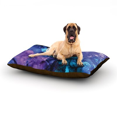 Soul Searching Dog Bed Size: 40 L x 30 W