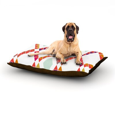 Aztec Diamonds Dog Bed Size: 60 L x 50 W