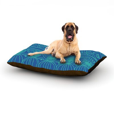 Beach Blanket Confusion Dog Bed Size: 28 L x 18 W