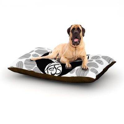 Panda Dog Bed Size: 60 L x 50 W