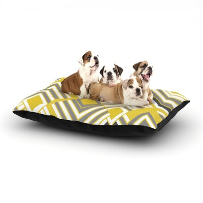 Luca - Gold Dog Bed Size: 28 L x 18 W