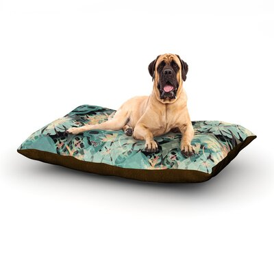 Deads Head Party Dog Bed Size: 40 L x 30 W