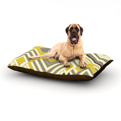 Luca - Gold Dog Bed Size: 60 L x 50 W