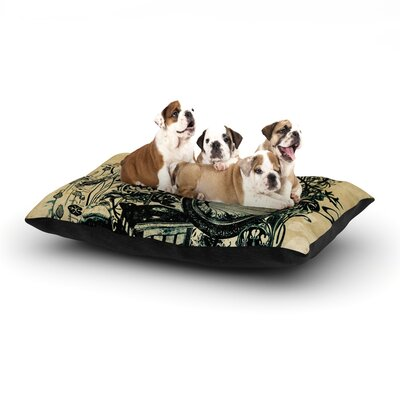 Sound of Nature Dog Bed Size: 40 L x 30 W