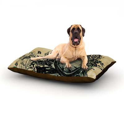 Sound of Nature Dog Bed Size: 60 L x 50 W