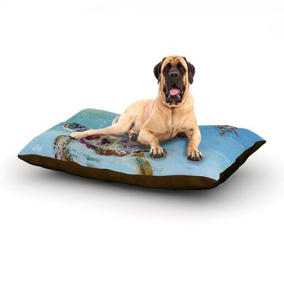 Home Sweet Home Dog Bed Size: 60 L x 50 W