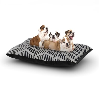 'The Grid' Dog Bed Size: 28