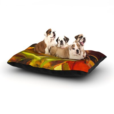 "'Mirrored in Nature' Dog Bed Size: 40"" L x 30"" W"