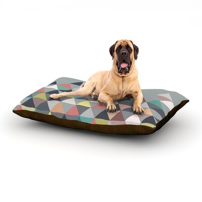 Nordic Combination Rectangle Pet Bed Size: 28 W x 18 D