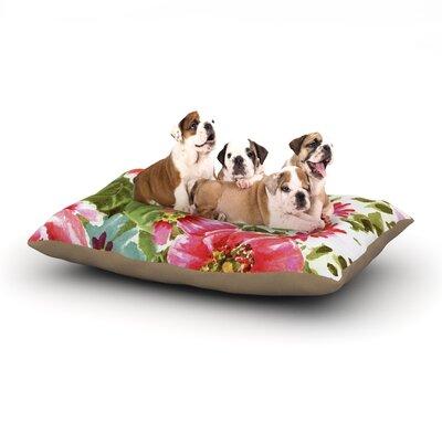 Walk Through The Garden Dog Bed Size: 40 L x 30 W