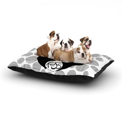 Panda Dog Bed Size: 40 L x 30 W