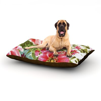 Walk Through The Garden Dog Bed Size: 60 L x 50 W