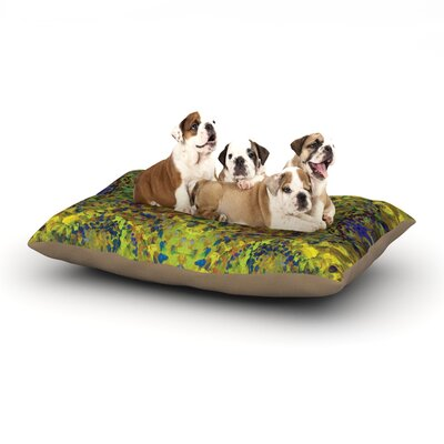 Yellow Jacket Dog Bed Size: 40 L x 30 W