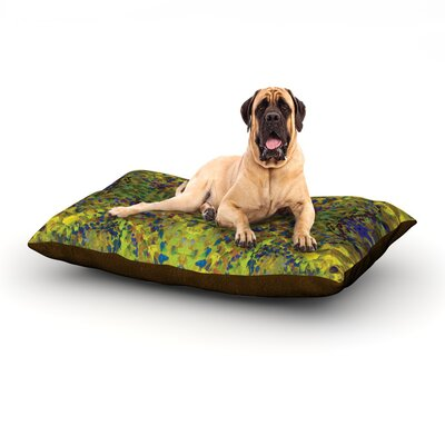 Yellow Jacket Dog Bed Size: 60 L x 50 W