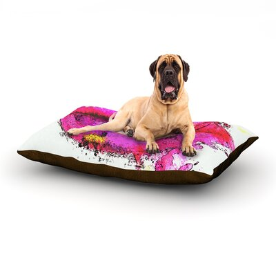 Kiss Me Dog Bed Size: 60 L x 50 W