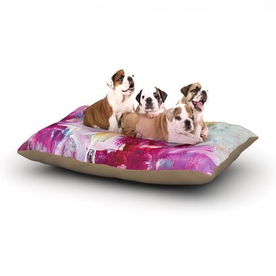 Magenta Dog Bed Size: 40 L x 30 W