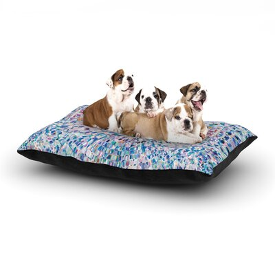 Looking Rectangle Pet Bed Size: 28 W x 18 D