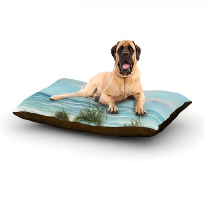 Sea Oats Dog Bed Size: 40 L x 30 W