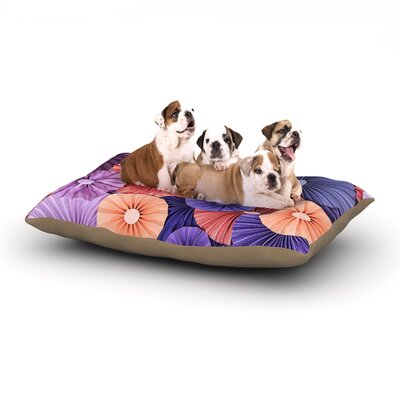 Raspberry Sherbert Dog Bed Size: 28 L x 18 W