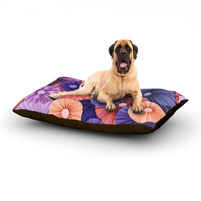 Raspberry Sherbert Dog Bed Size: 60 L x 50 W