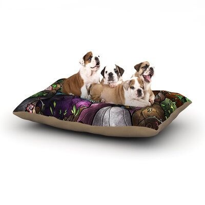 I Know You Dog Bed Size: 28 L x 18 W